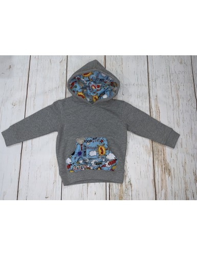 Sudadera Boom Comic Kids...
