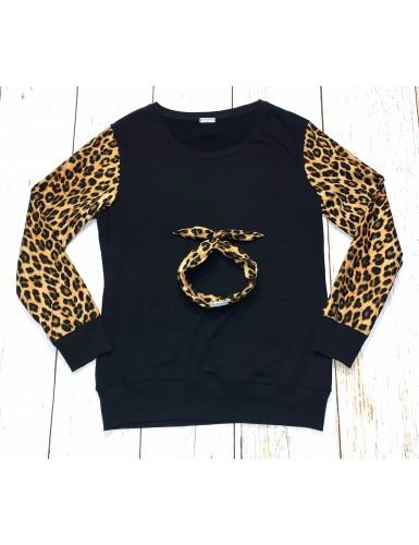 Sudadera Leopard